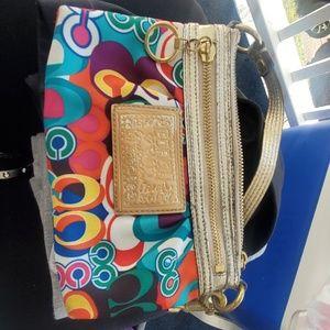 Small coach bag/wristlet